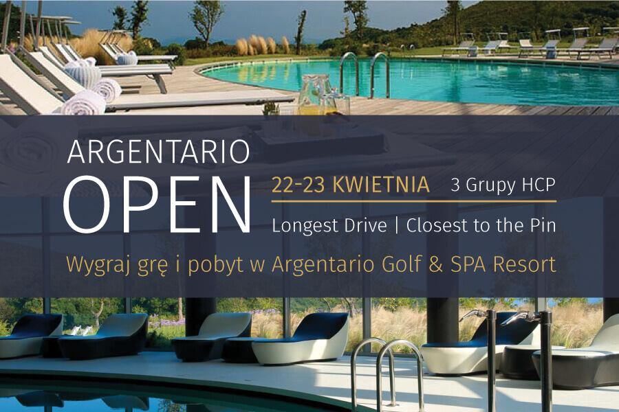 Argentario Open: zapisy na turniej