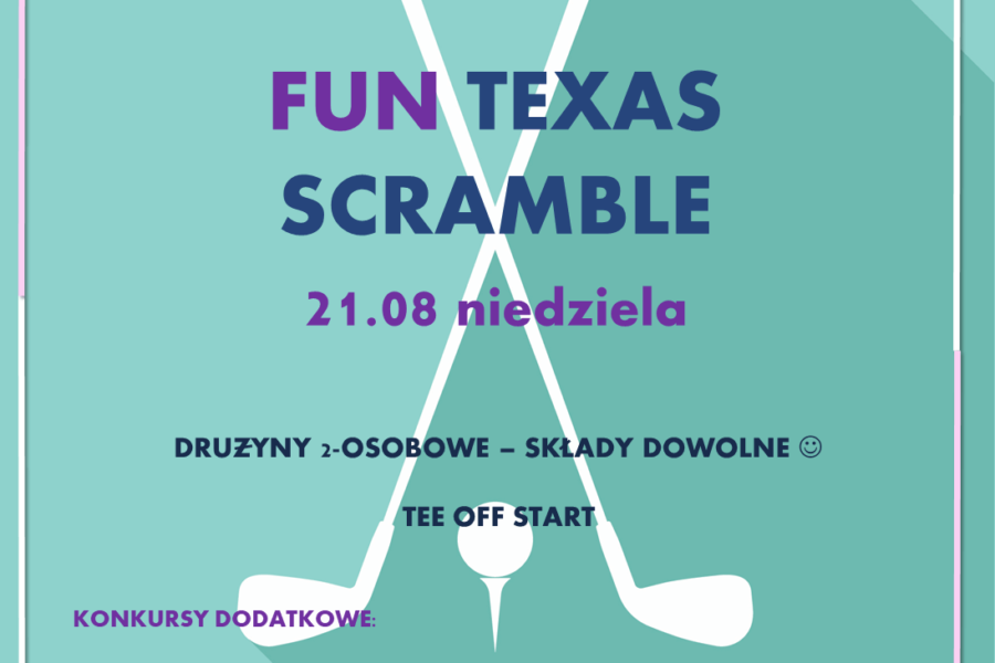Fun Texas Scramble – Sunday 21st