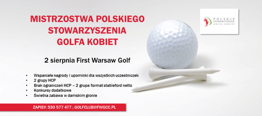 Mistrzostwa Polskiego Stowarzyszenia Golfa Kobiet – Lista startowa